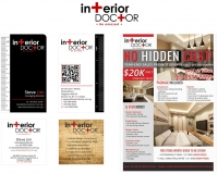Interior Doctor - Logo, Namecards, Flyers